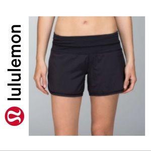 Lululemon Black Groovy Run Shorts